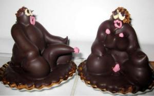 Les négr déesses de la pâtisserie Grasse